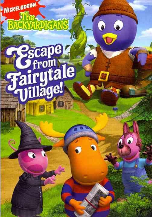BACKYARDIGANS:ESCAPE FROM FAIRYTALE V BY BACKYARDIGANS (DVD)